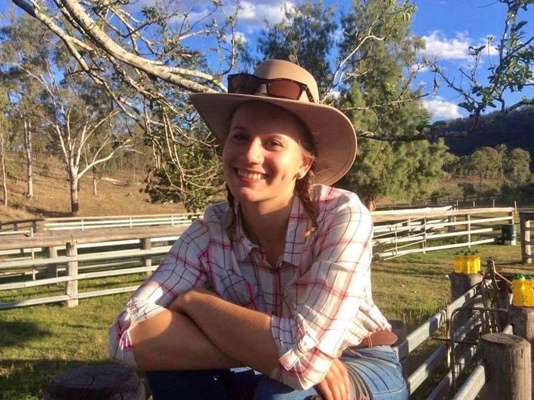 Kora Haupt aus Bad Wildungen lebte und arbeitete auf einer Farm in Australien