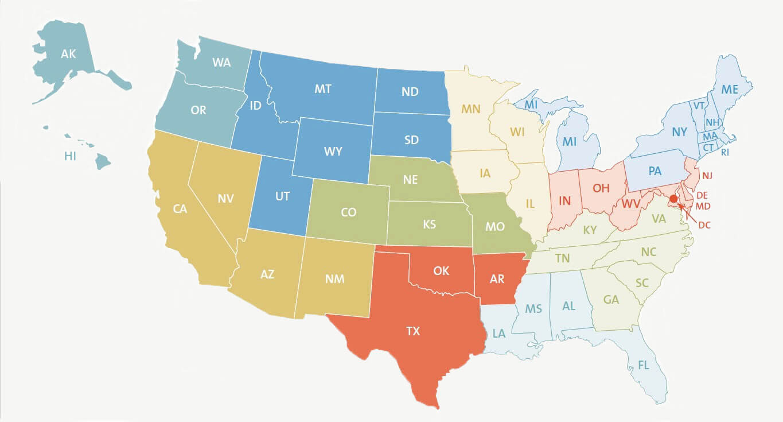 Regionalwahl USA (Sommer)