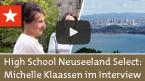 High School Neuseeland Select – Michelle Klaassen im Inter...
